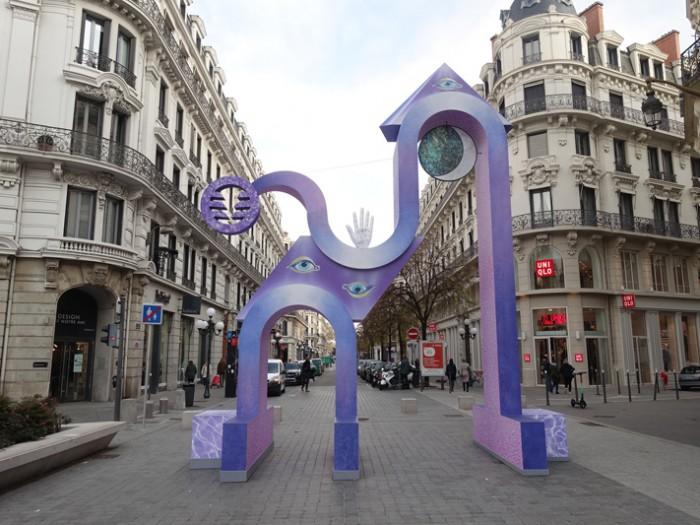 La ville et la Biennale de Lyon