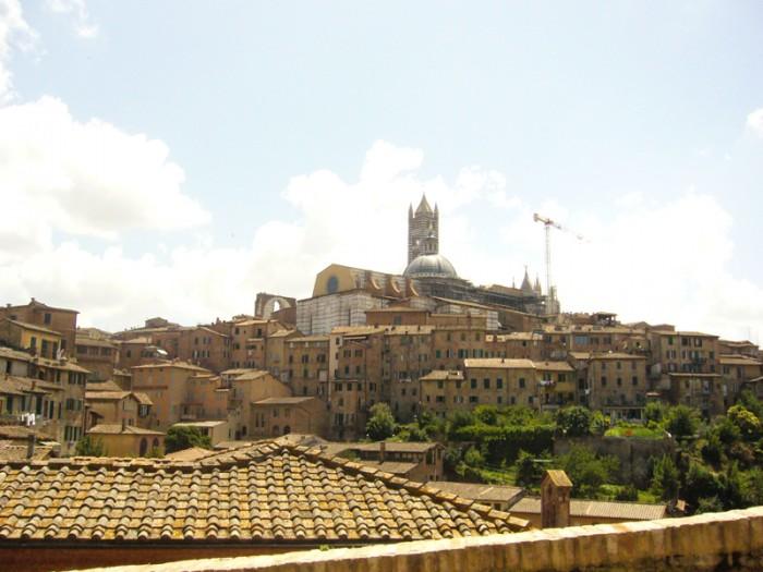 Mon voyage en Italie à Sienne