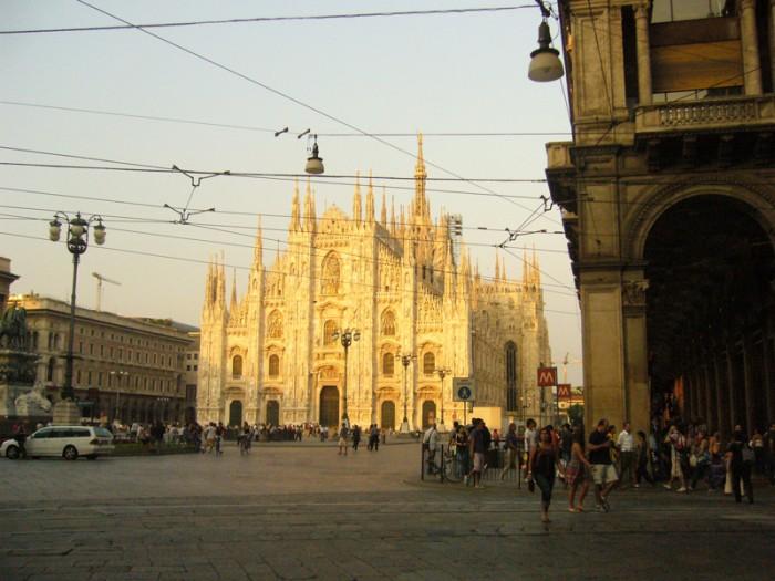 Mon voyage en Italie à Milan