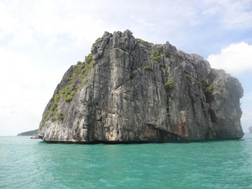 Mon voyage à Koh Phangan: Bateau, trek et éléphant
