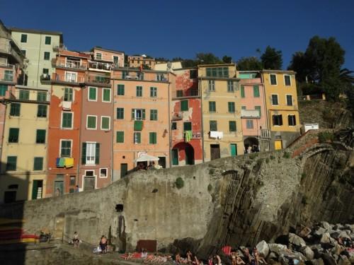 Mon voyage en Italie – Les 5 Terres – Riomaggiore