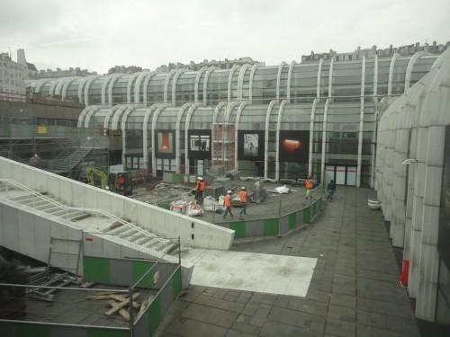 Le chantier des Halles… ça continue