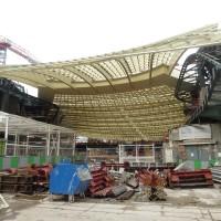 Forum des Halles: Le chantier en Janvier 2014