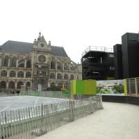 Forum des Halles: Le chantier en Mai 2015