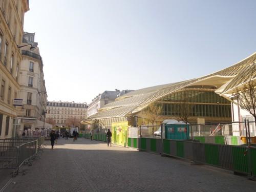 Le chantier du Forum des Halles Avril et Mai 2016