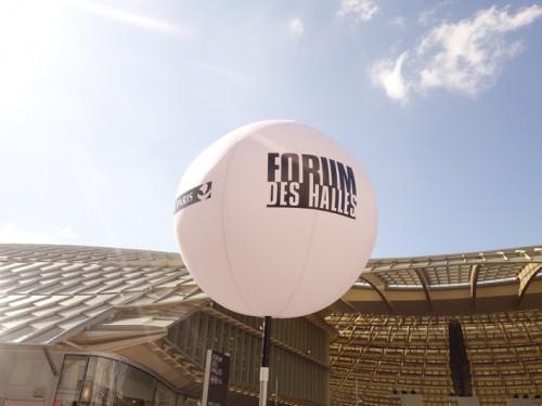 Inauguration du Forum des Halles