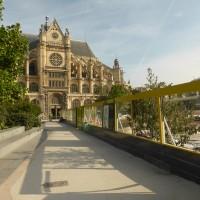 Forum des Halles: Le chantier en Septembre 2016