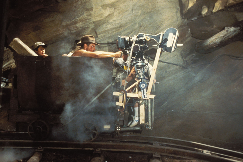 Photo de tournage du film Indiana Jones