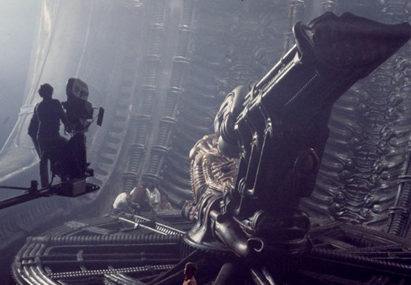Photo de tournage du film Alien