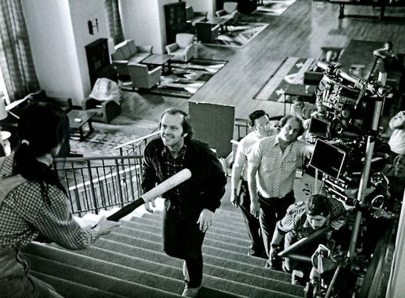 Photo de tournage du film Shinning
