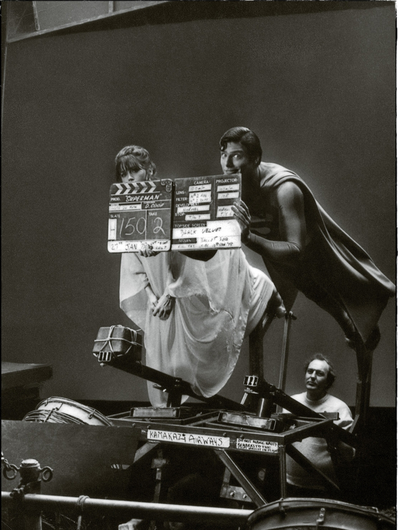 Photo de tournage du film Superman