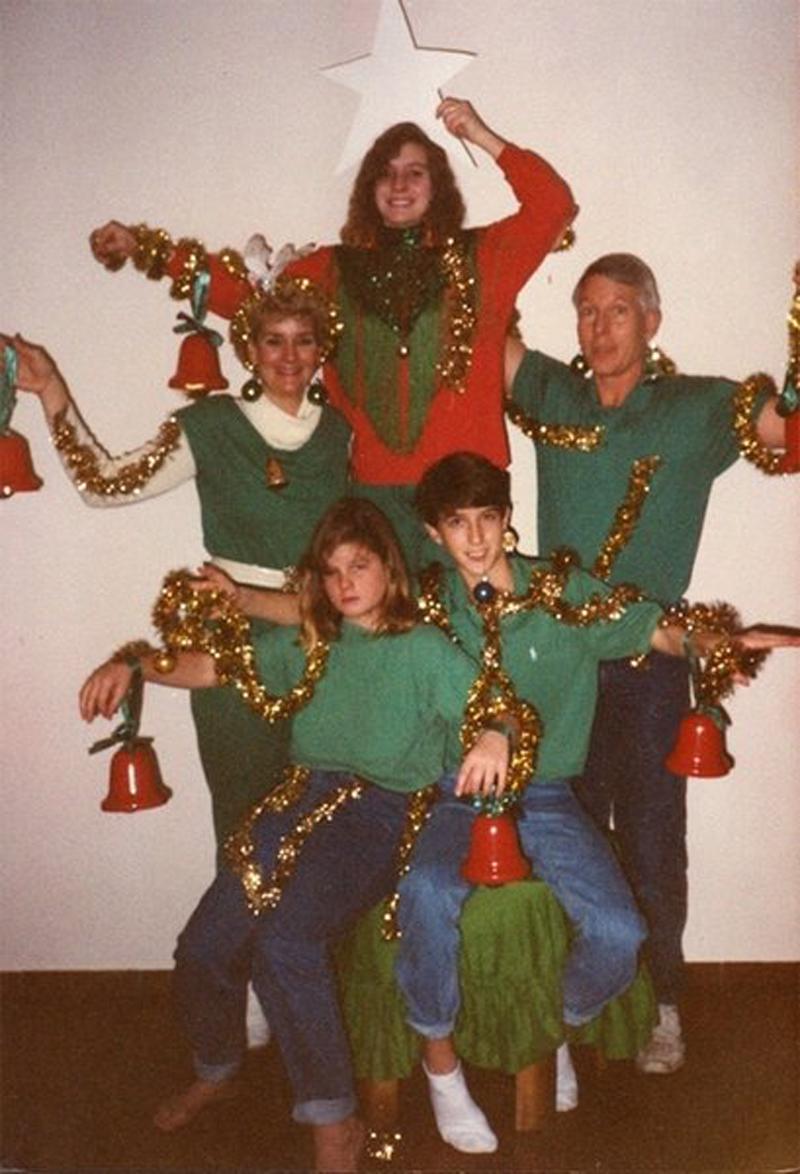 Les pires photos de familles prisent à Noël trouvées sur le web