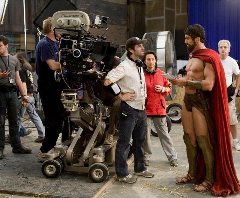 Photo de tournage du film 300