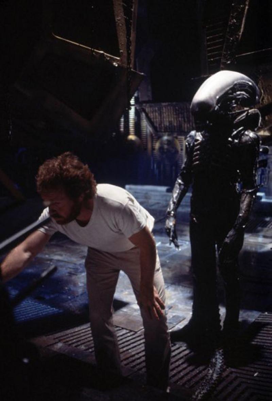 Photo de tournage du film Alien