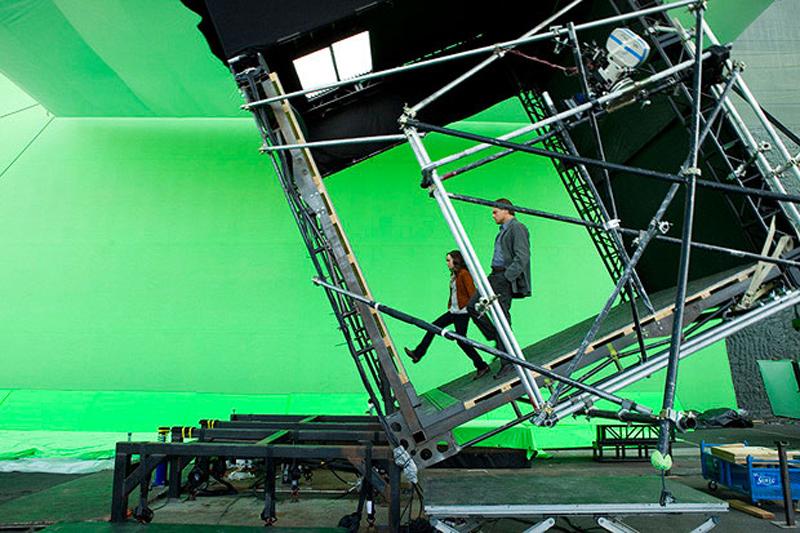 Photo de tournage du film Inception