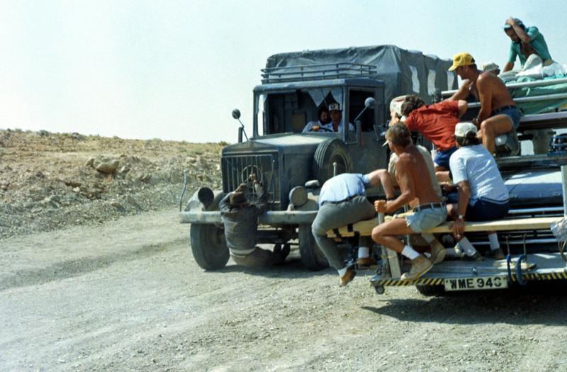 Photo de tournage du film Indiana Jones