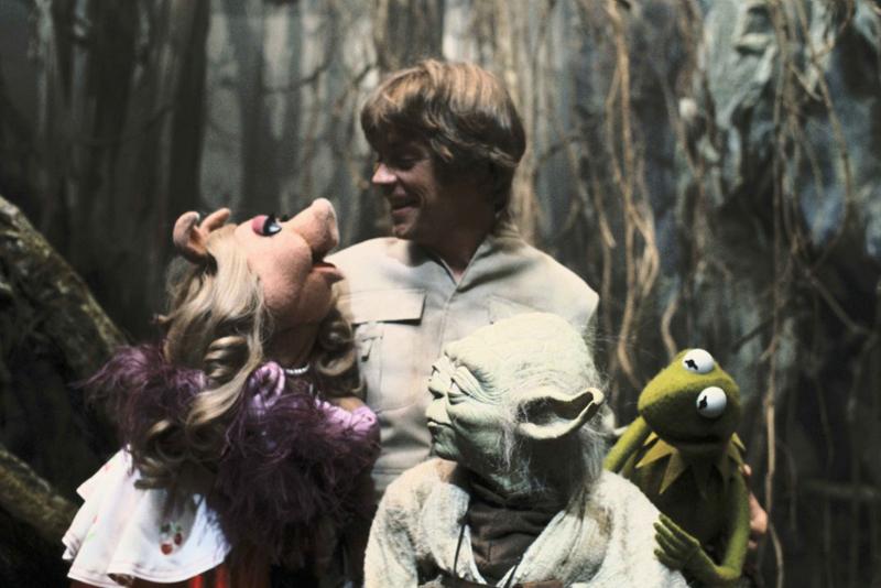 Photo de tournage du film Les Muppets