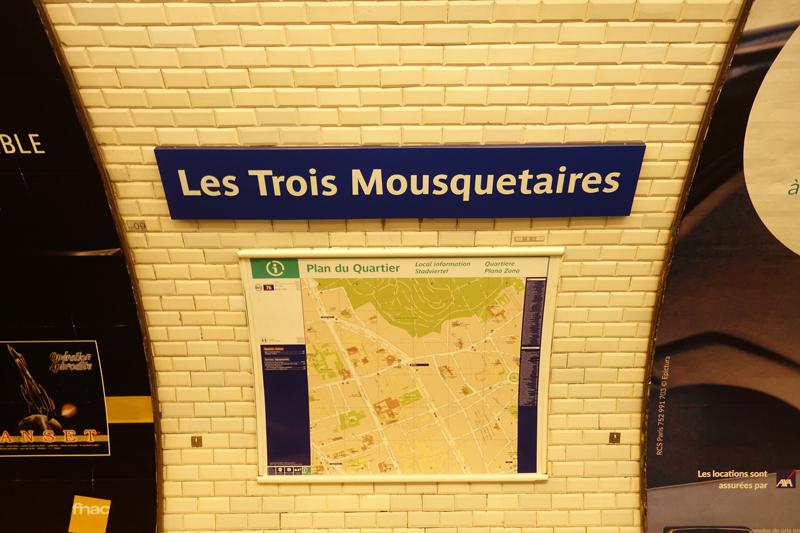 La RATP a  renommée la station de métro Alexandre Dumas à Paris