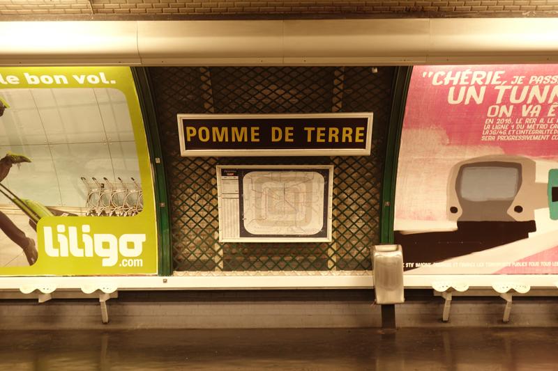La RATP a  renommée la station de métro Parmentier à Paris