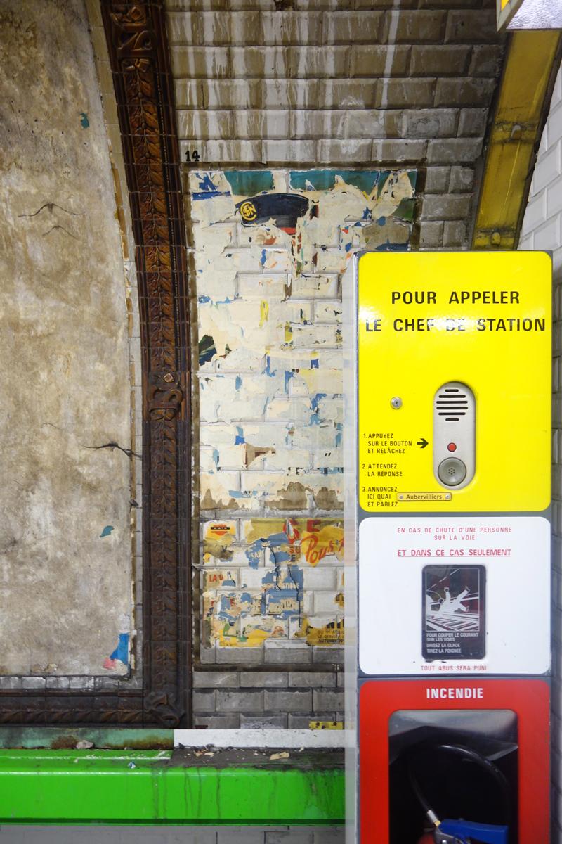 Rénovation de la station de métro Trinité
