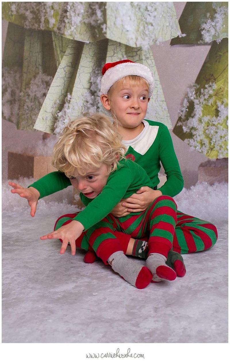 Les pires photos de famille de Noël