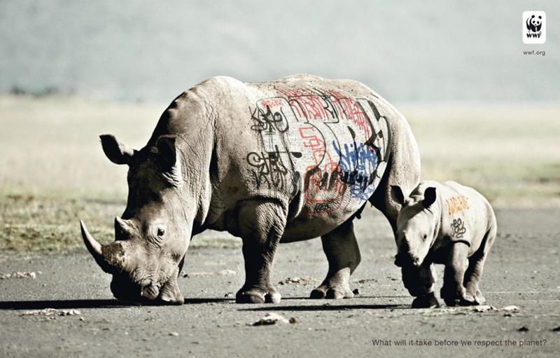 Campagne de Publicité WWF