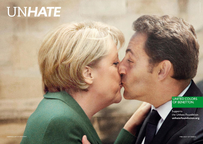 Campagne publicitaire Benetton Unhate