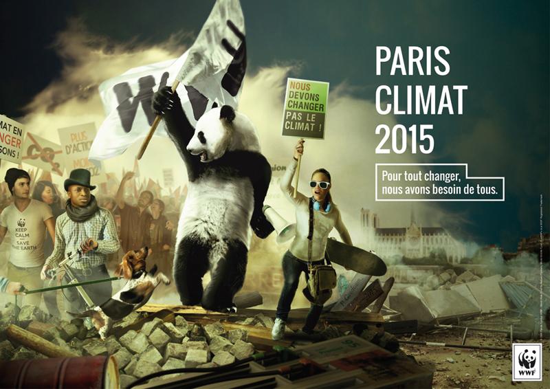 1er prix gagnant 2015 concours Creative Awards WWF France et Saxoprint