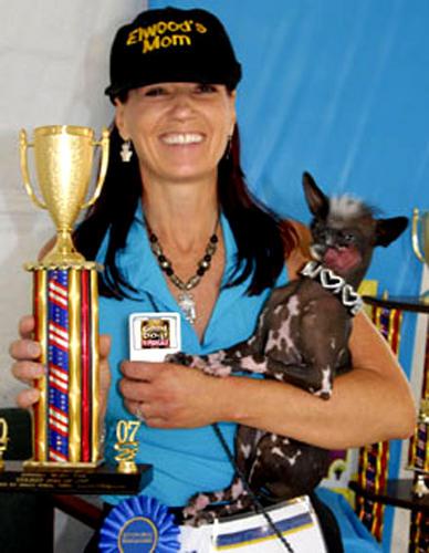 Concours du chien le plus laid du monde en 2008