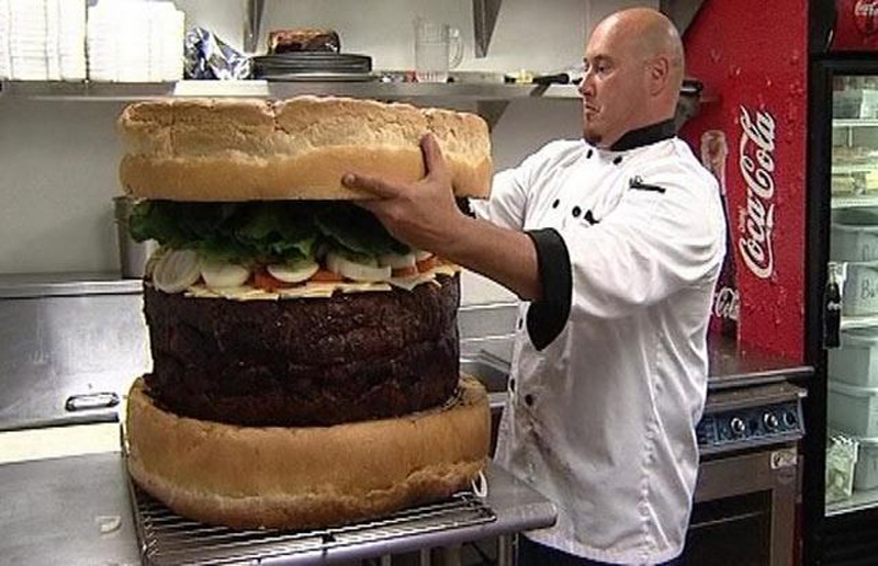 Gros hamburger