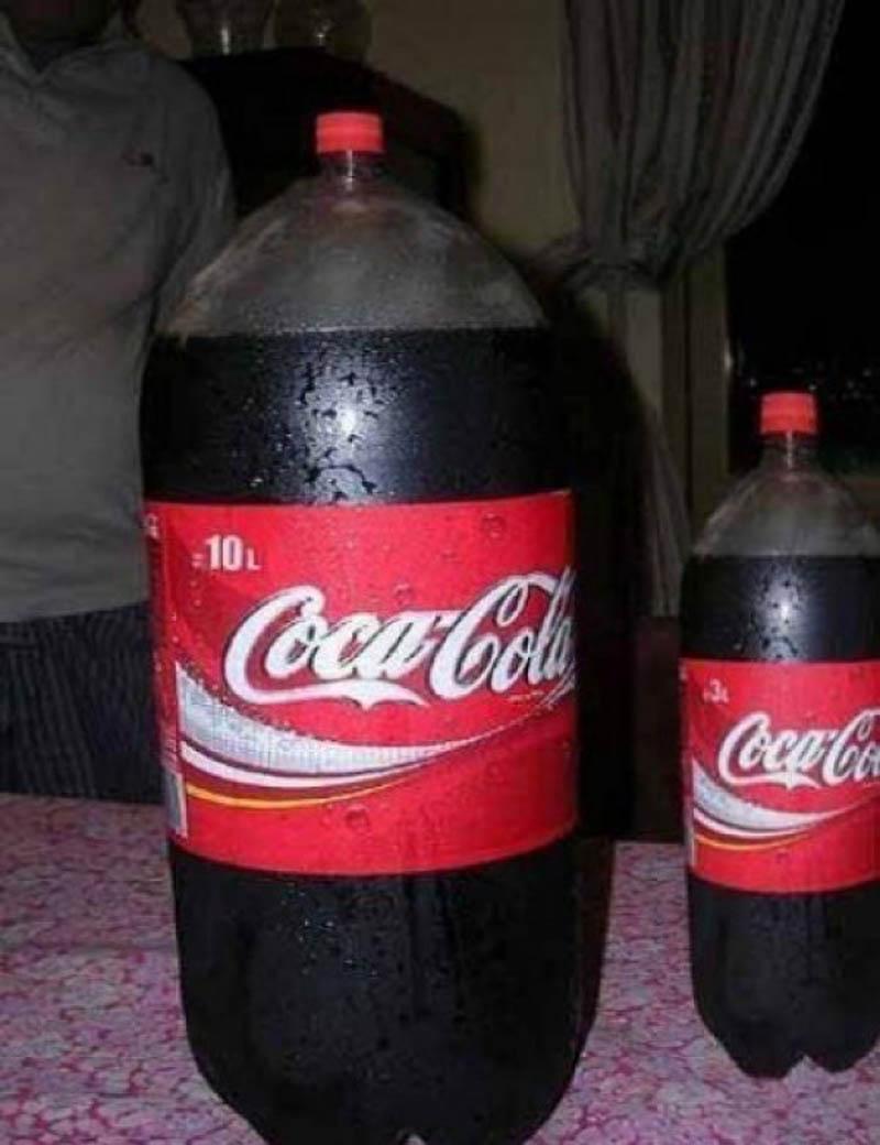 Gros Coca Cola