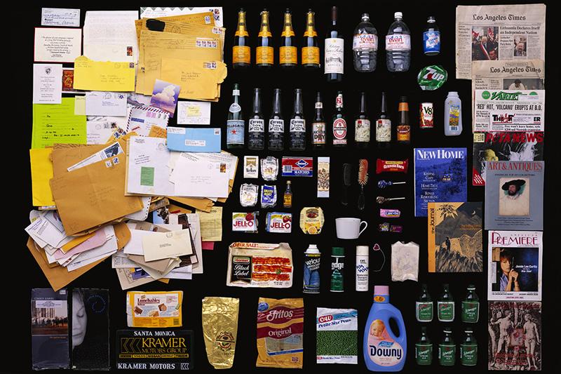 Exposition Trash photographes Bruno Mouron et Pascal Rostain Poubelle de
