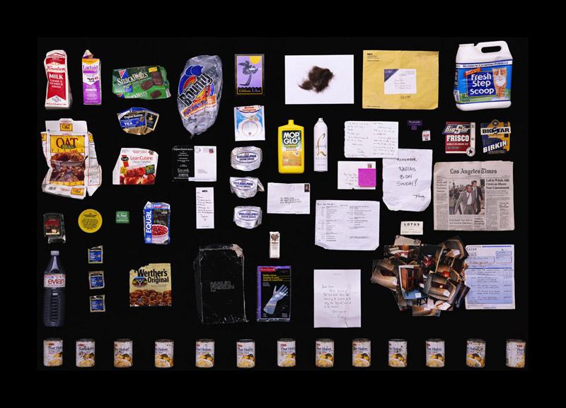 Exposition Trash photographes Bruno Mouron et Pascal Rostain Poubelle de Sharon Stone