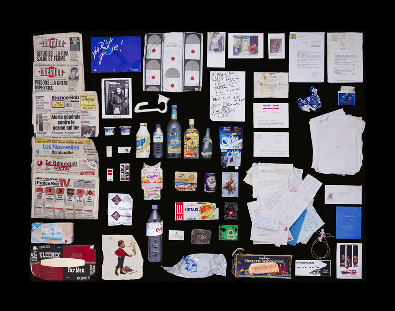 Exposition Trash photographes Bruno Mouron et Pascal Rostain Poubelle de Serge Gainsbourg