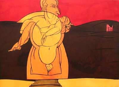 Peintre Valerio Adami
