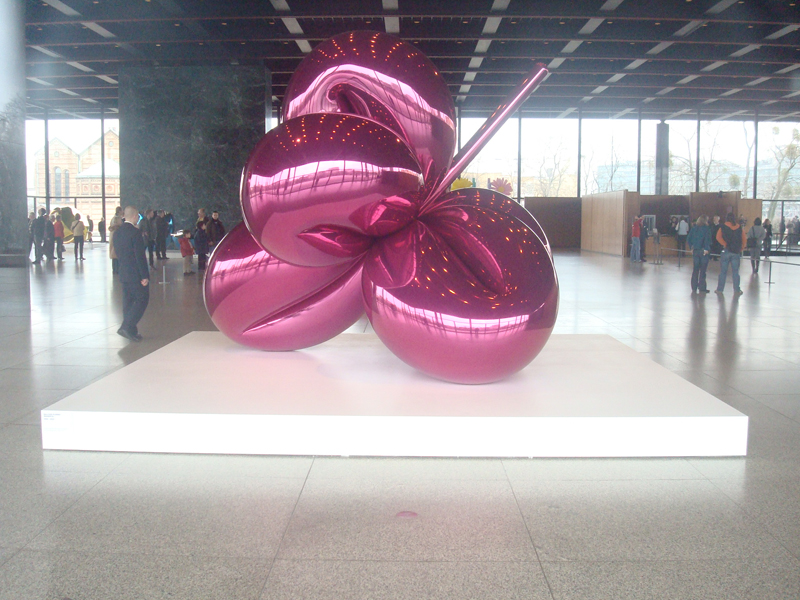 Jeff Koons à Berlin