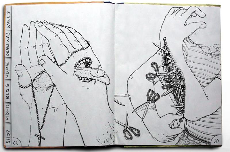 Artistes de rue Muto et Combo