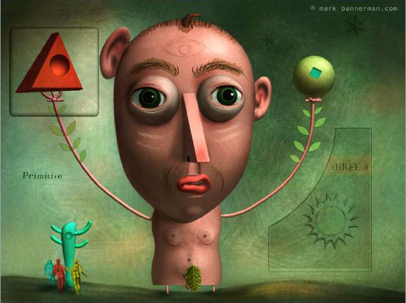 Illustrateur Mark Bannerman