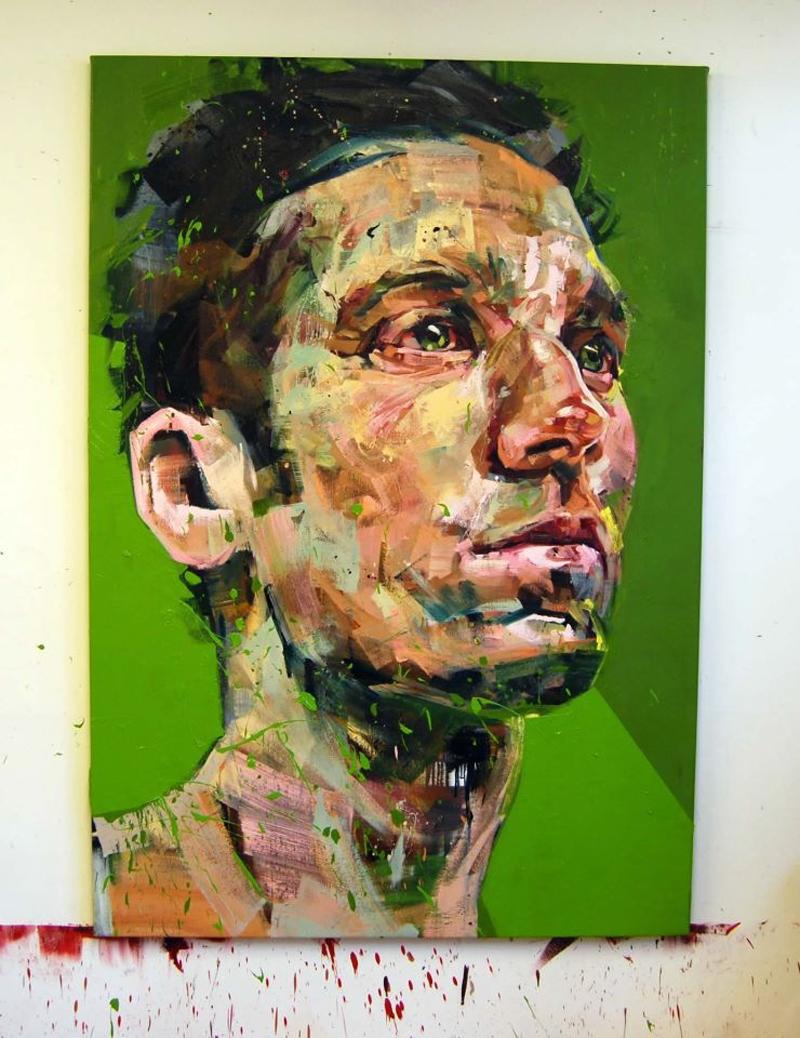 Peintre Andrew Salgado