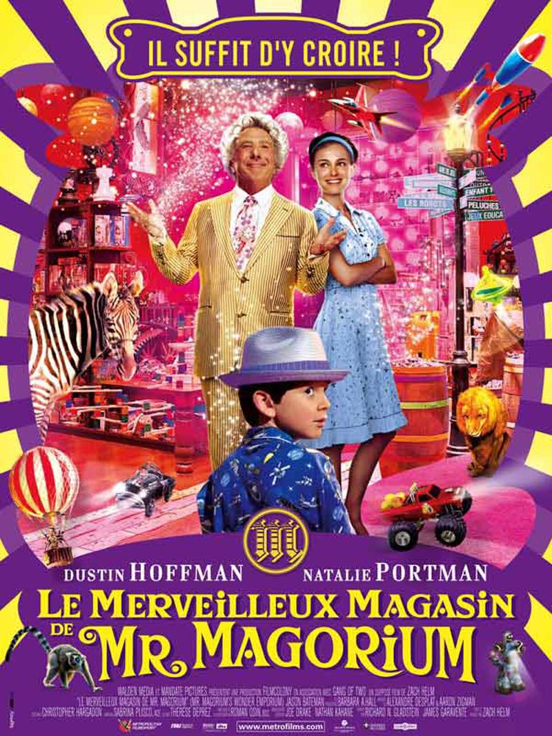 Cinéma Le merveilleux magasin de Mr Magorium