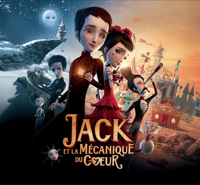 Cinéma Jack et la mécanique du cœur