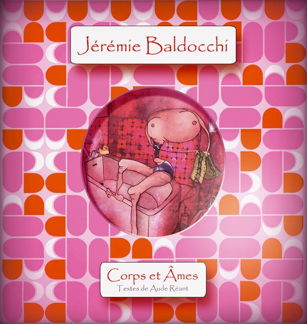 Premier livre du peintre contemporain Jérémie Baldocchi