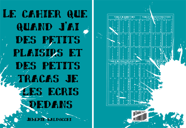 Second livre du peintre contemporain Jérémie Baldocchi