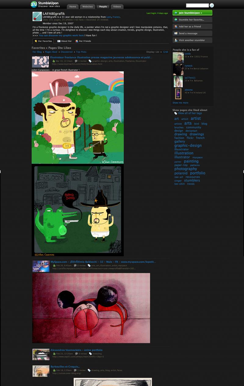 Blog du graphiste et peintre Lafabe Grafik's