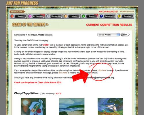 Concours artistique pour artiste peintre contemporain