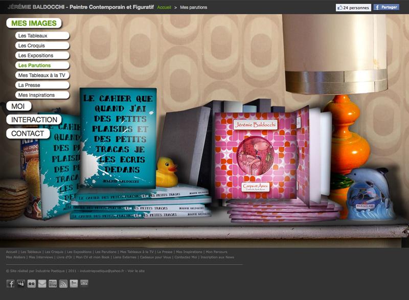 Nouveau site internet de peinture contemporaine
