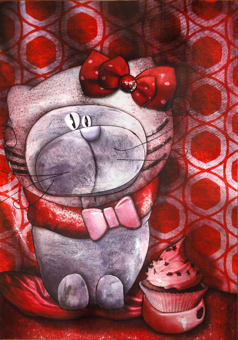 Vœux 2012 du peintre contemporain Jérémie Baldocchi