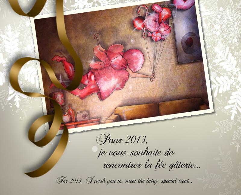 Vœux 2013 du peintre contemporain Jérémie Baldocchi