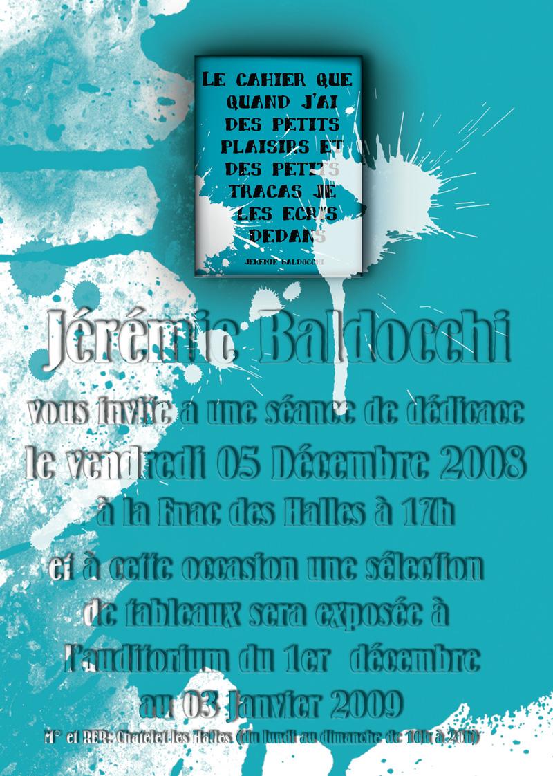 Dédicace Décembre 2008