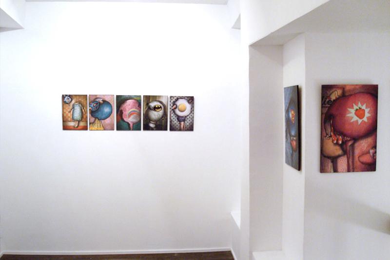 Exposition à la galerie Espora à Madrid